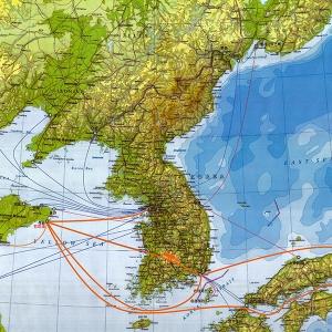 2020年8月石岛新港船舶靠泊记录